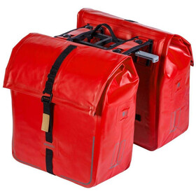 Basil Urban Dry Doppelpacktasche MIK 50l signal red
